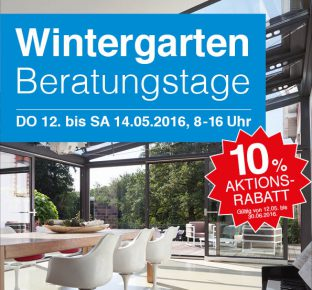 Homepage Wintergarten-Aktion