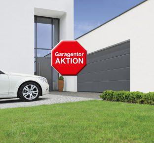 Garagentor-Aktion
