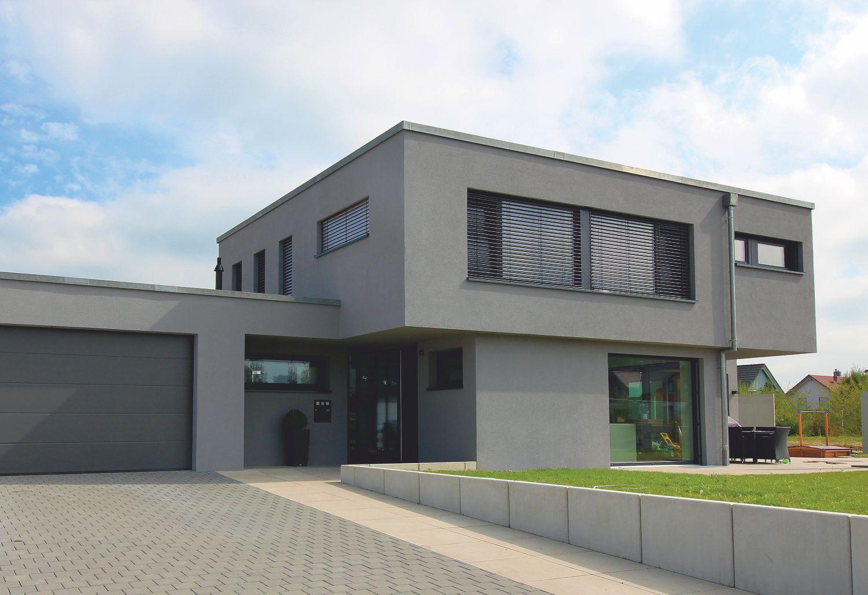 Flachdach sch nreiter baustoffe bauen modernisieren for Haus bauen flachdach