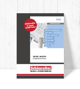 Produkt Folder Knauf Gips