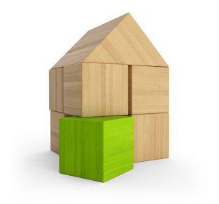 Holzhaus Baustein Konzept - Grn 4